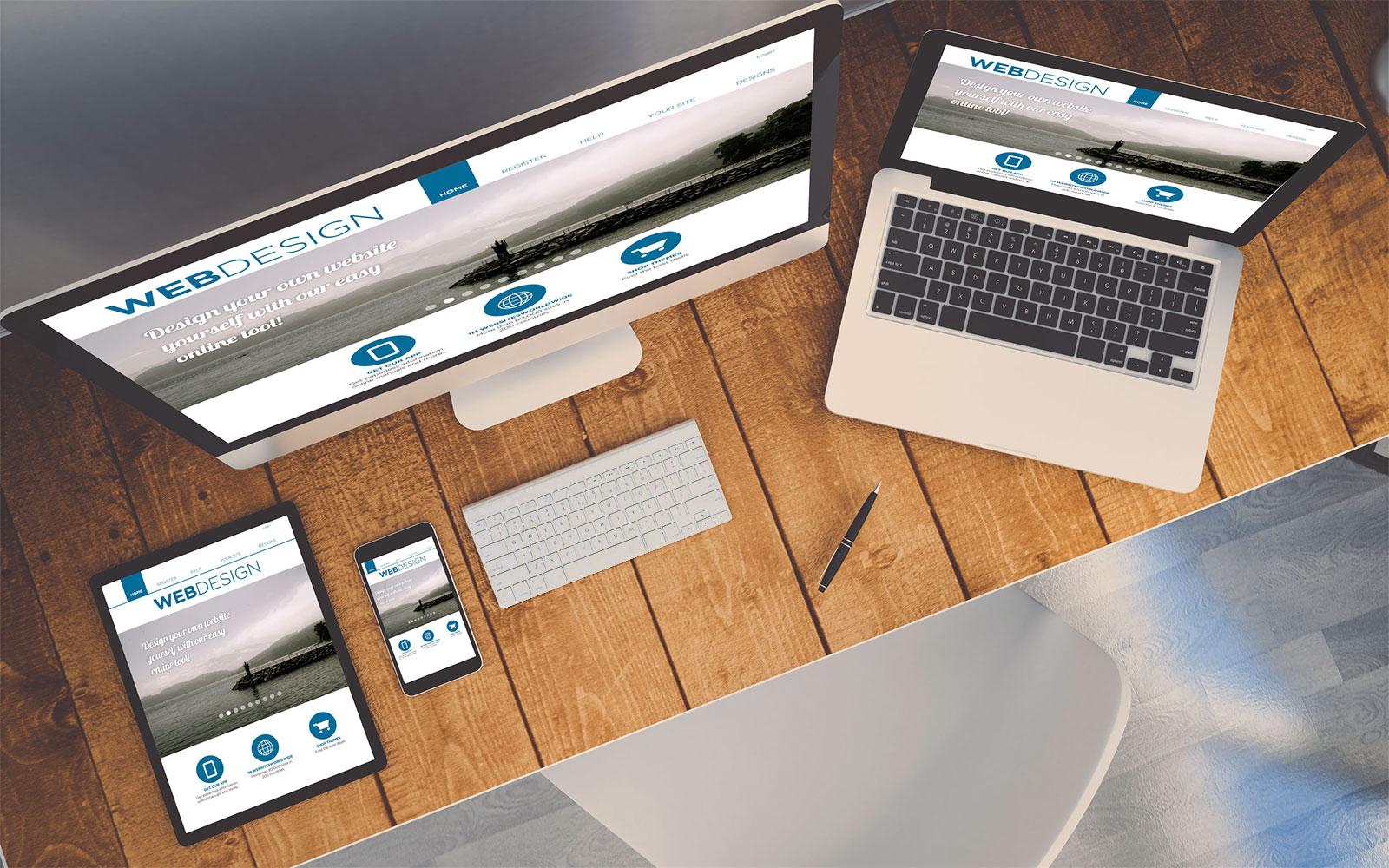 Axivorm webdesign