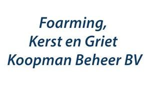 Foarming, Kerst en Griet Koopman Beheer BV