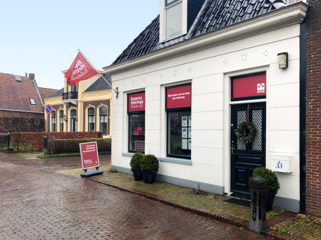 Nieuwe huisstijl Kuperus Heeringa Makelaardij